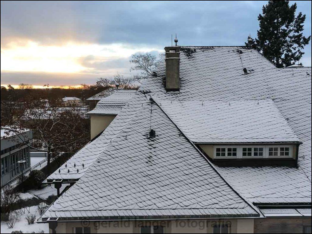 Schweinfurt - Erster Schnee - 05.01.2017 © Gerald Langer