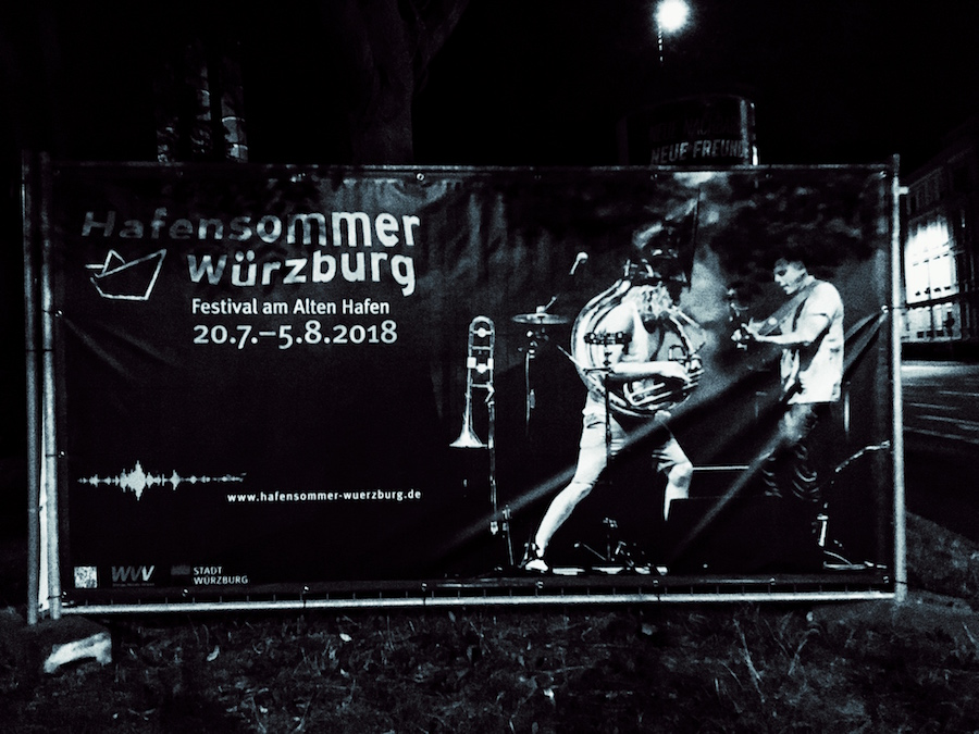 Hafensommer Wuerzburg 2018 - Banner